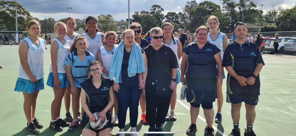Engadine Eagles Newball Club - All Abilities Team on Day 3