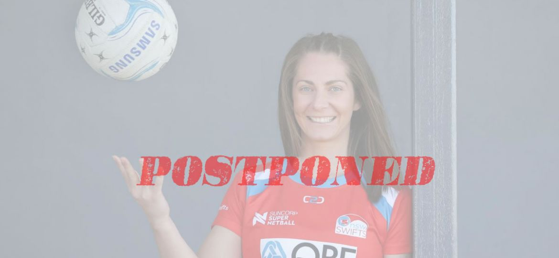 Abbey McCulloch postponed
