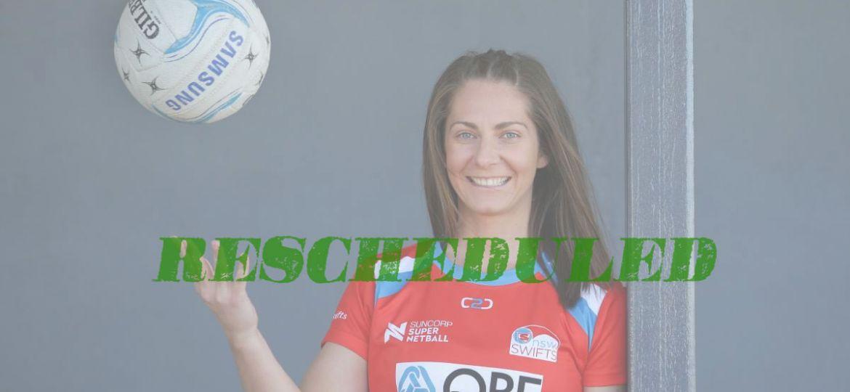 Abbey McCulloch rescheduled